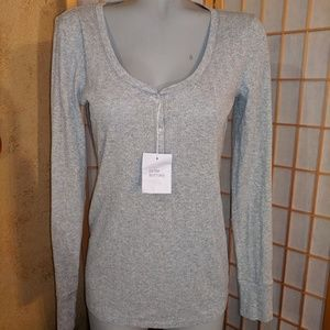 Victoria's secret silver shimmer top, NWTs, LG